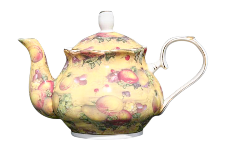 Country Fruit 4 cup Teapot